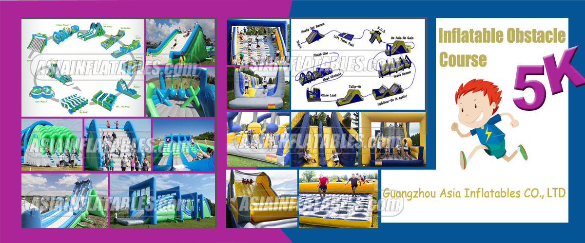 China best Inflatable Obstacle Challenges on sales