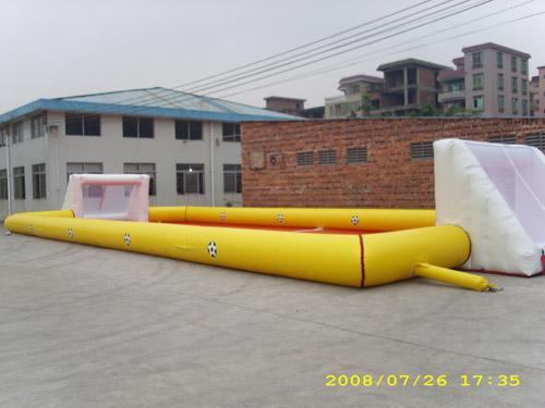 Exciting Sport Games Inflatable Soccer Fields / Newest Inflatable Football Gate