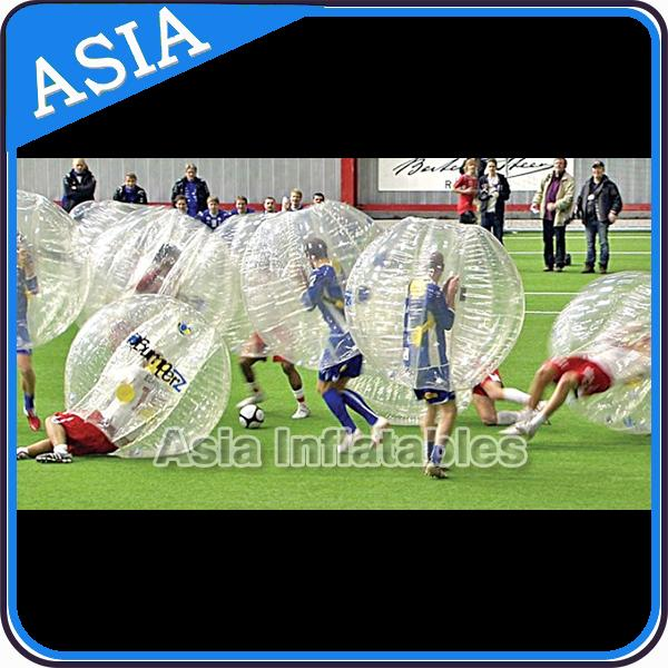 0.8mm/1.0mm PVC/TPU Inflatable Bumper Ball , Soccer bubble , Bubble ball soccer , Inflatable bumper football