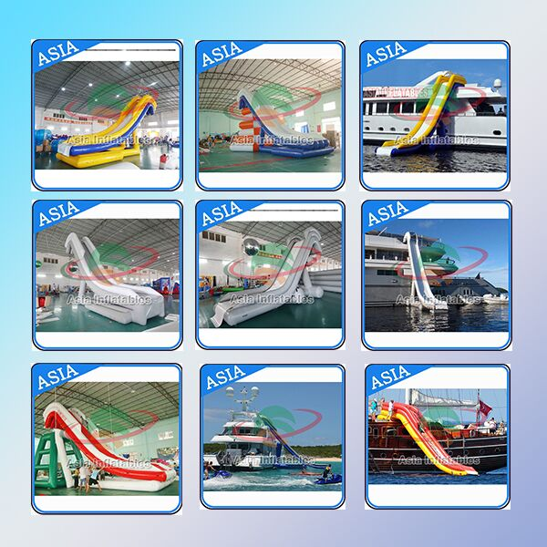 Commercial Grade Inflatable Water Slide Inflatable Yacht