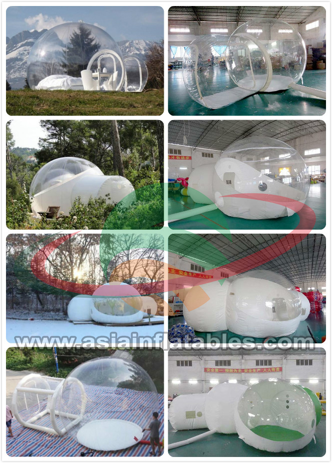 e14ccda3432 PVC Inflatable Transparent Bubble House Tent For People Have A Camping In  Outdoor