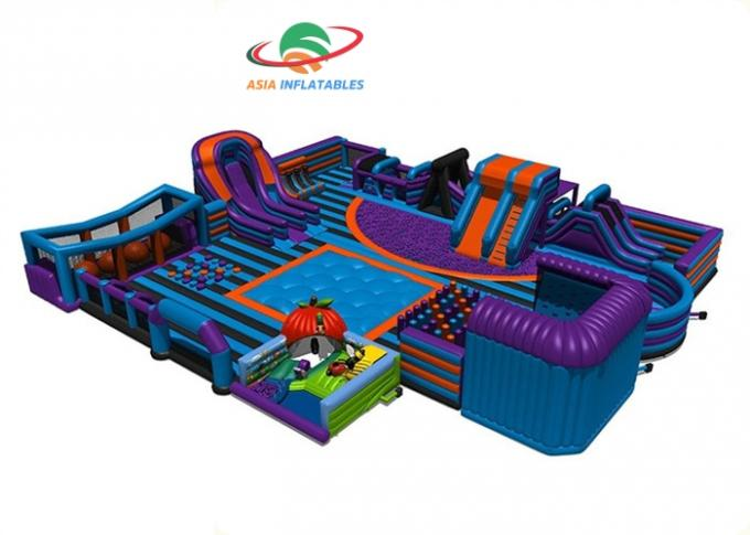 Water - Proof Family Inflatable Amusement Park / Commercial Indoor Playground