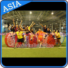 China Hot colour inflatable bubble soccer , Kids inflatable bubble football , Human loopy ball factory