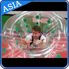 China 1.0mm TPU Soccer bubble for sale , Human soccer bubble , Bubble ball soccer factory
