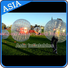 China Colorful dot inflatable human bubble soccer , Body zorbing ball , Outdoor loopyball factory