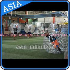 China Outdoor Inflatable Bumper Ball , Loopyball bubble soccer , Bubble football factory