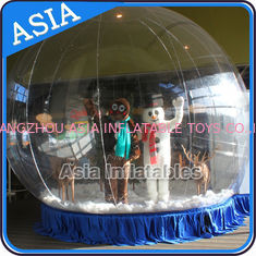 China Human Inflatable Bubble Tent Xmas Inflatable Snow Globe EN - 71 factory