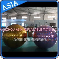 China Stage Customized Advertising Fireproof Inflatable Mirror Ball For Christmas Decoration supplier