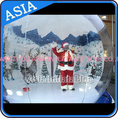 China Strong PVC Christmas Snow Globe / Inflatable Bubble Tent For Sale factory