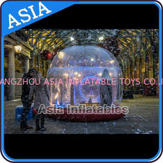China Durable Human Inflatable Snow Globe / Inflatable Tent For Chirstmas factory