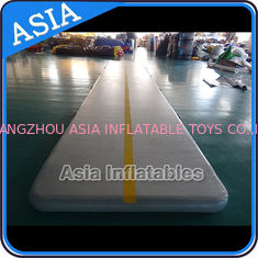 China Rectangle Shape Gym Sport  Inflatable Tumble Track In 20cm For Cheerleading factory