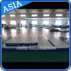 China Dwf Material Custom Inflatable Gym Air Mat Used For Dancing supplier