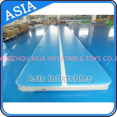 China 10ml Light Blue Inflatable Air Gymnastics Mats For P factory
