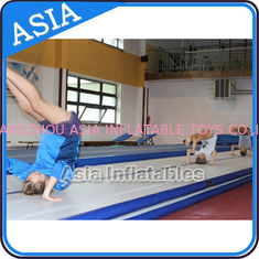 China Cheerleading Club And Gymnasium Inflatable Air Tumbling Track Used For Training factory