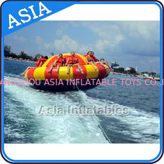 China Spinning Inflatable Disc Boat For 12 People / Inflatable Spin Boat Water toys supplier