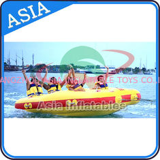 China 4 Seats Bali Rolling Donut Inflatable Boats Rider For Water Sport Games supplier