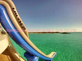 China Outdoor PVC Inflatable Aqua Sports,  Marine Slide For Yacht, Yacht Climbing factory