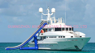 China Ocean Floating Spots Games, Inflatable Water Slides For Yacht factory