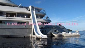 China Customized Water Slide Inflatable Water Sports on yacht 0.90mm Pvc Tarpaulin factory