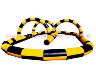 China Commercial Inflatable Zorb Ball Race Track For Racing Games factory