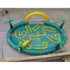 China Circle Inflatable Cars Air Track For Zorb Ball Play factory