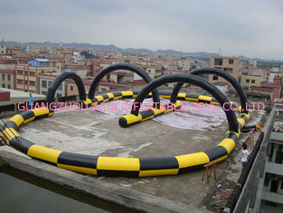 China Fantastic Zorb Ball Inflatable race Track For Outdoor Kindergarten factory