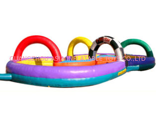 China Colourful Zorb Ball Inflatable Racing Track for Events factory