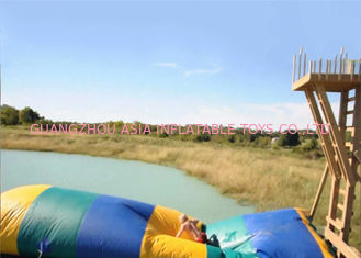 China Commercial Grade Inflatable Water Flipper , Inflatable Water Sports Games For Sale factory