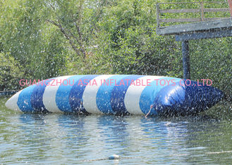 Commercial Grade Inflatable Water Flipper , Inflatable Water Sports Games For Sale
