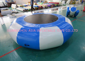 China Inflatable Bounce Platform , Inflatable Water Trampoline Sports factory