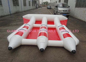 China Firproof Custom Inflatable Flying Fish Boat Water Surfing Board Water Equipmen factory