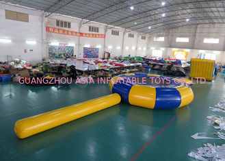 China Rave Aqua Jump Eclipse Water Parks , Inflatable Water Games Chinese Supplier factory
