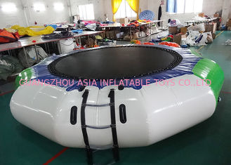China Hoe Sale Jump Water Trampoline ,  Inflatable Water Games For Water Park factory