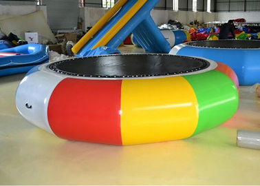 China Cheap Water Trampoline Inflatable Water Games , Water Trampoline Manufacturer factory