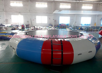 China Commercial Air Tight Inflatable Water Trampoline For Water Sport Games factory
