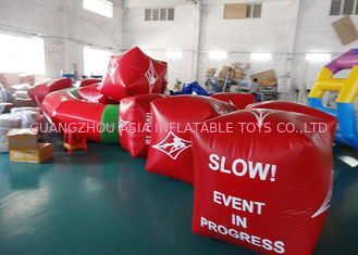 China Water Triathlons Advertising Inflatable Promoting Buoy For Ocean Or Lake factory