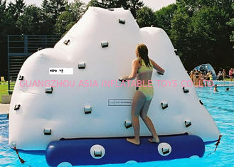 China Iceberg Climbing Inflatable Water Games, Adults Inflatable Floating Sea Mountain factory