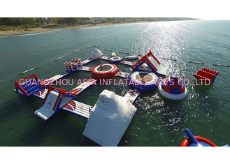 China 20x20m Outdoor Sea Inflatable Water Parks for Amusement Park supplier