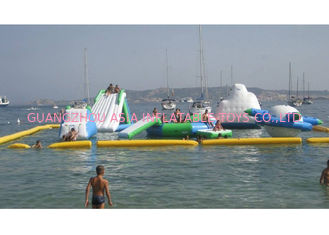 0.9mm PVC Tarpaulin Inflatable Water Parks With 3 Years Warranty