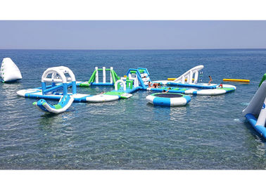 China 0.9mm PVC Tarpaulin Inflatable Water Parks With 3 Years Warranty supplier