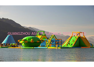 Floating Playground Inflatable Water Park / Inflatable Water Toys