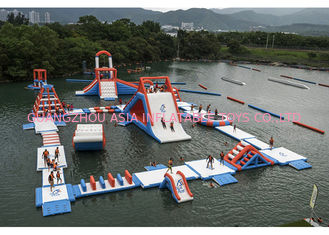 China Commercial Inflatable Water Parks For Amusement Resort Flame Resistance supplier