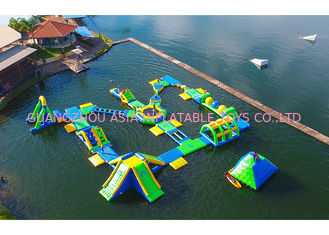 China Huge Outdoor Inflatable Water Park For Adult / Inflatable Water Games factory