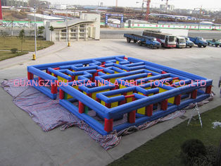 Inflatable Tunnel Maze Game, Inflatable Maze Field For Chilren