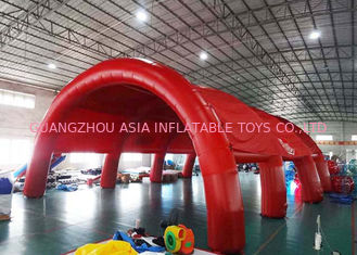 China Durable Huge Inflatable Arch Tents , Nylon Fabric Outdoor Dome Tent factory