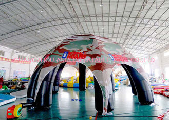 China Inflatable Giant Spider Marquee Tent For Amusement Park / Supermarket factory
