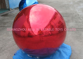 Decoration PVC Material Inflatable Mirror Balloon For Bars , Concerts