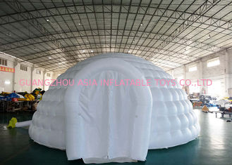 China Outdoor Advertising Inflatable Igloo Dome Tent For Trading Fair / Wedding factory