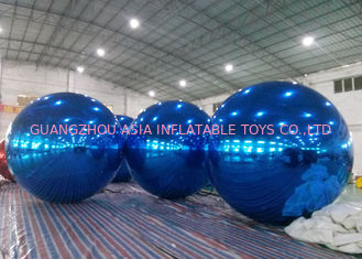 Inflatable Huge Bule Mirror Ball Advertising Inflatable Product Large Mirror Balloon