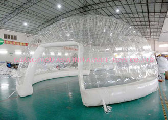 China High Grade Airtight Clear Inflatable Event Tent / Inflatable Dome Building factory